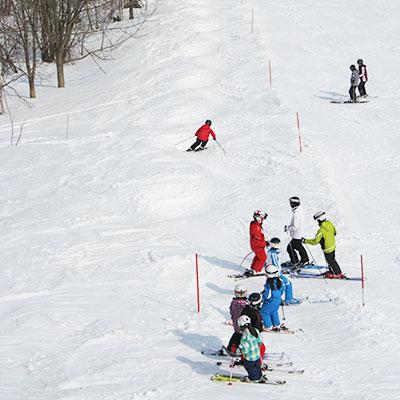 ジュニアスキー4日間コース(春休み)
